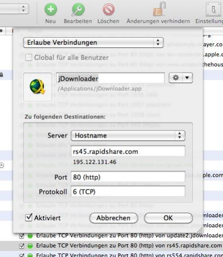 Jdownloader Vs Little Snitch Macuserde Community