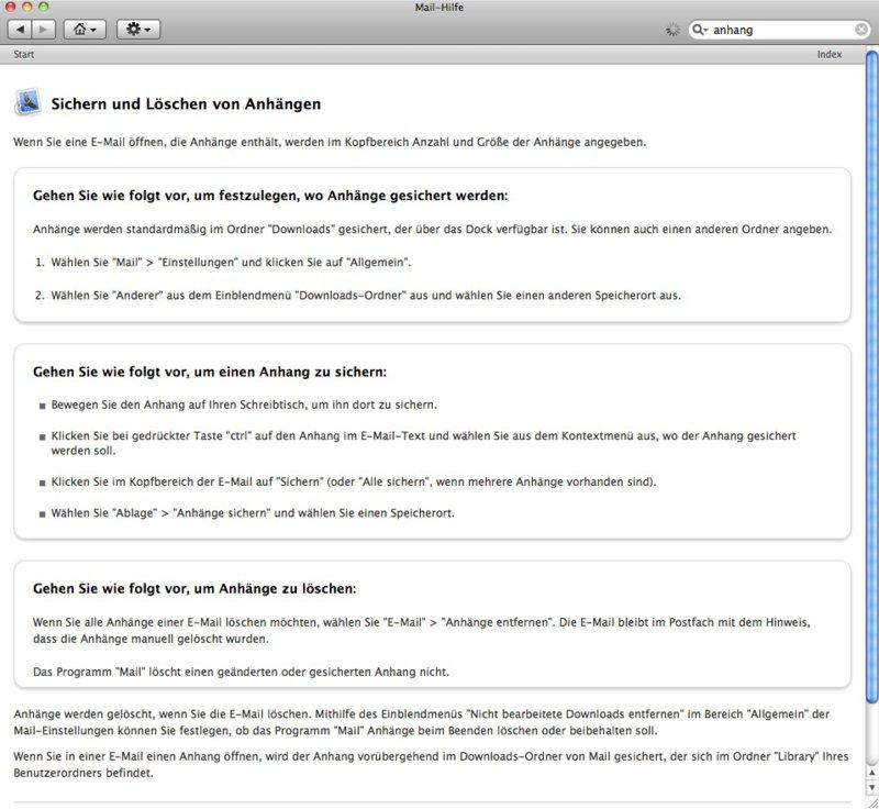 Mail- Programm - Anhänge können nicht geöffnet werden | MacUser.de ...